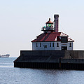 Duluth Harbor South Breakwater Lighthouse by George Jones