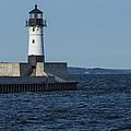 Duluth N Pier Lighthouse 40 by John Brueske