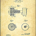Dumbbell Patent Drawing from 1935 -Vintage by Aged Pixel