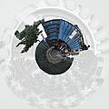 Dump Truck On A Wee Planet by Paulette B Wright