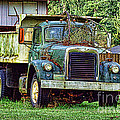 Dump Truck by Ron Roberts