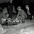 Dumping Whiskey In Mississippi 1951 by Mountain Dreams