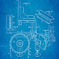 Duncan Addressing Machine Patent Art 1896 Blueprint by Ian Monk
