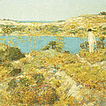 Dune Pool by Childe Hassam