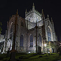 Dunfermline Abbey By Night 4 Of 6 by Ross G Strachan