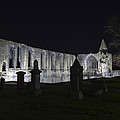 Dunfermline Abbey By Night   The Palace   6 Of 6 by Ross G Strachan