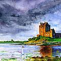 Dunguaire Castle Ireland by John D Benson