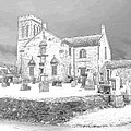 Dunlop Kirk In Snow by James Potts