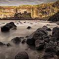 Dunluce Castle Shadow by Nigel R Bell
