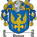 Dunne Coat Of Arms Irish by Heraldry