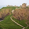 Dunnottar Castle Scotland by Georgi Djadjarov