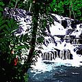 Dunns River Falls Jamaica by MOTORVATE STUDIO Colin Tresadern