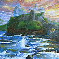 Dunscaith Castle - Shadows Of The Past by Samantha Geernaert