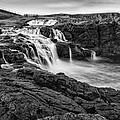 Dunseverick Waterfall by Nigel R Bell
