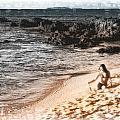 Duotone Beach Scene by Timothy Hacker