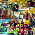 Dupont Circle Street Poster by Bill Swartwout Fine Art Photography
