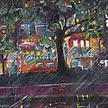 Dupont In The Rain by Leela Payne