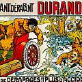 Durandal by Vintage Automobile Ads and Posters