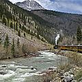 Durango And Silverton Rr by Paul Riedinger