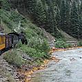 Durango To Silverton Railroad by Greg Plamp