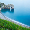 Durdle Door In The Evening by Ian Middleton