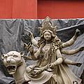Durga In Kumartuli by Shaun Higson