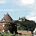 Durnstein Castle by Elvis Vaughn