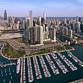 Dusable Harbor Chicago by Steve Gadomski