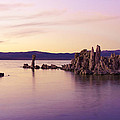 Dusk At Mono Lake by Priya Ghose
