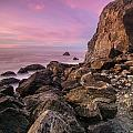 Dusk Falls Over Patrick's Point by Greg Nyquist