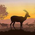 Dusk In Kenya by Anthony Mwangi