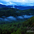Dusk In The Smoky Mountains   by Nancy Mueller