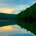 Dusk On Crescent Lake by JG Coleman