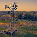 Dusk On The Prairie by Daniel Hagerman