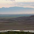 Dusk Over Medano Creek And The San Luis by Scott Warren