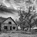 Dust Bowl Era Farm House by Debi Boucher