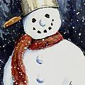 Dustie's Snowman by Sam Sidders