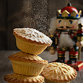 Dusting Mince Pies by Amanda Elwell