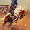 Dusty Bronc by Andy Thomas