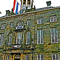 Dutch Architecture Of The Golden Age For Town Hall In Enkhuizen- by Ruth Hager