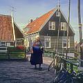 Dutch Traditional Dress by Bob Phillips