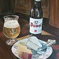 Duvel And Cheese Plate by Jennifer Lycke