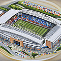 Dw Stadium - Wigan Athletic by D J Rogers