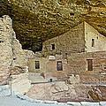 Dwellings In Spruce Tree House On Chapin Mesa In Mesa Verde National Park-colorado  by Ruth Hager