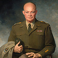 Dwight D Eisenhower by Mountain Dreams