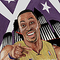 Dwight Howard Welcome To The  Lake Show by Israel Torres