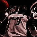 Dwyane Wade Ready To Go by Brian Reaves