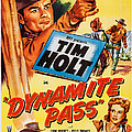 Dynamite Pass, Top Tim Holt, Bottom L-r by Everett