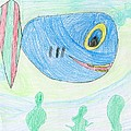E' S Blue Fish by Patsy  Stanley