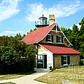 Eagle Bluff Lighthouse by Tommy Anderson